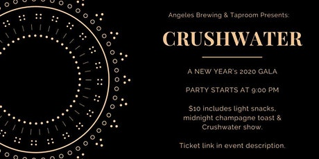 New Year's Gala with Crushwater tickets
