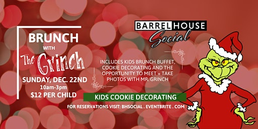 BRUNCH WITH THE GRINCH 2019 Dec 22