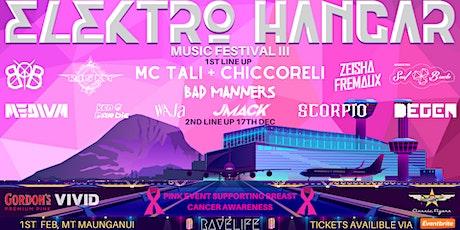 ELEKTRO HANGAR MUSIC FESTIVAL III tickets