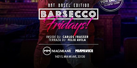 Friday at Barsecco ! tickets