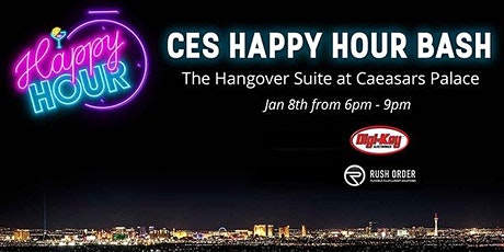 CES 2020 Happy Hour @ Caesars Palace Hangover Suite tickets