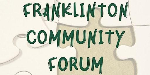 Franklinton Community Forum
