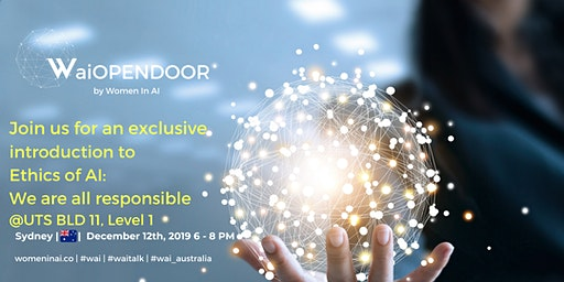 The Ethics of AI: Women in AI Sydney Presents WaiOPENDOOR