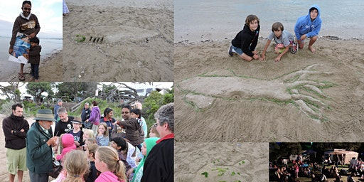 Marine Mammal Discovery presentation, Nurdle Hunt, Sand Sculpture and Marine Movie - 23 January 2020 - Blairgowrie