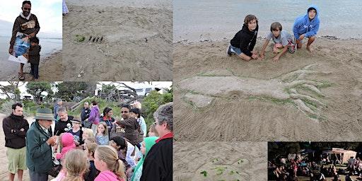 Marine Mammal Discovery presentation, Nurdle Hunt, Sand Sculpture and Marine Movie - 10 January 2020 - Blairgowrie