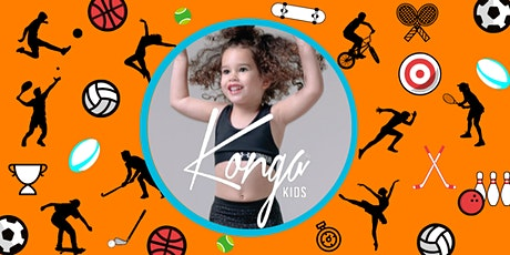 Konga Kids - Session 3 (5 to 12 years)* tickets