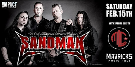SANDMAN, The Only Metallica Sanctioned Tribute w/ MLC tickets