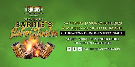 Barrie's Lohri Jashn - Folk Festival tickets