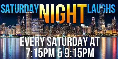 Saturday Night Standup at Laugh Factory Chicago - 9pm Show tickets