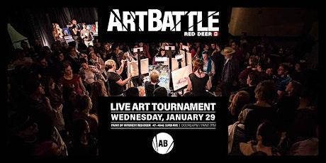 Art Battle Red Deer - January 29, 2020 tickets