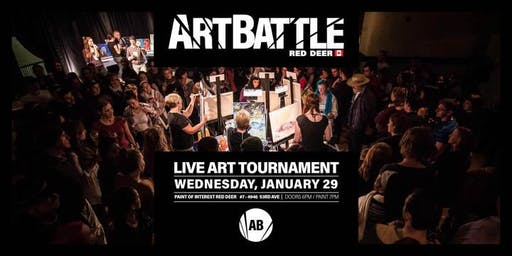 Art Battle Red Deer - January 29, 2020