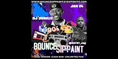 Bounce Sip and Paint ft DJ Jubilee