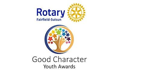 Fairfield Suisun Rotary Good Character Youth Awards 2020
