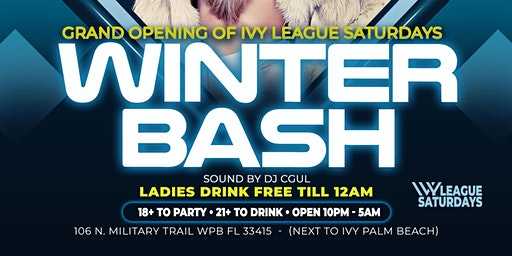 GRAND OPENING: IVY LEAGUE SATURDAYS @ IVY LOUNGE