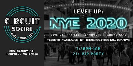 Circuit Social NYE 2020 tickets