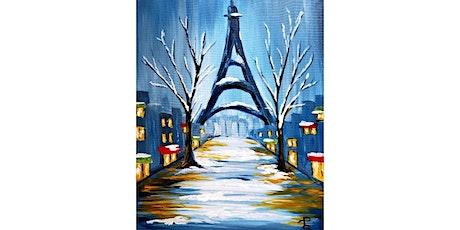 1/27 - Eiffel Tower Winter Scene @ Hidden Vine Bistro, Marysville tickets