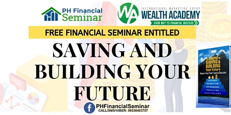 Saving and Building Your Future Valenzuela City tickets