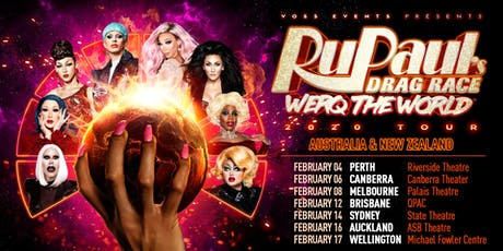 RuPaul's Drag Race WERQ THE WORLD 2020 Tour tickets