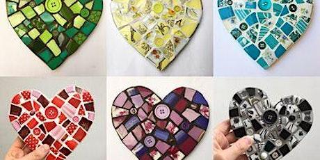 Tile Mosaic Heart Class tickets
