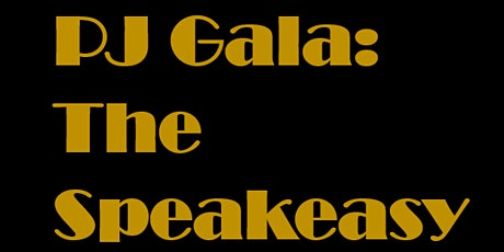 PJ GALA 2020: The Speakeasy tickets