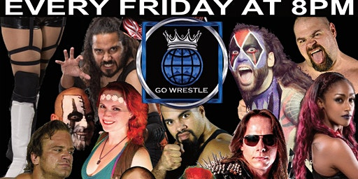 Go Wrestle 137! Wrestling Every Friday. Dec 13th at 8pm. Tickets $10 Adults, $5 Kids