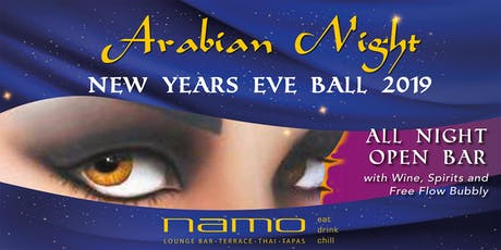 Arabian Night New Years Eve Ball at Namo tickets
