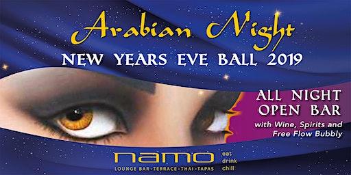 Arabian Night New Years Eve Ball at Namo