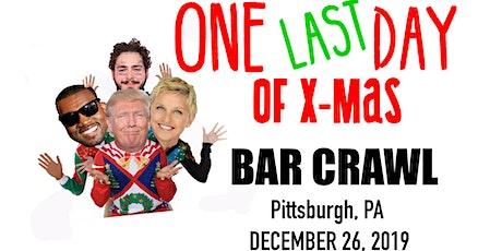 One LAST Day of Xmas Bar Crawl tickets