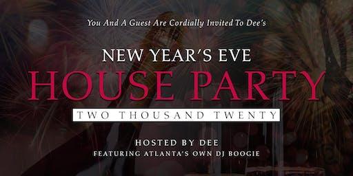 New Years Eve House Party Twenty Twenty