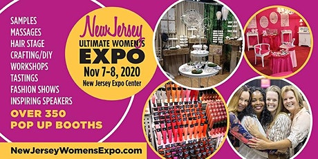 New Jersey Women's Expo Beauty + Fashion + Pop Up Shops + More, Nov. 7-8, 2020 tickets