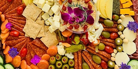 """How to Build A First-Class Cheese & Charcuterie Board (""""Grazing Board"""") tickets"""