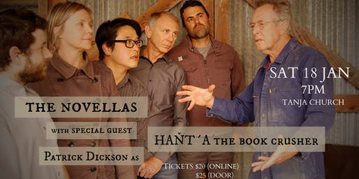 THE NOVELLAS with special guest Patrick Dickson