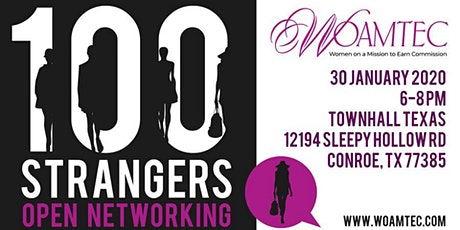 100 Strangers - a Night of Business Networking! tickets