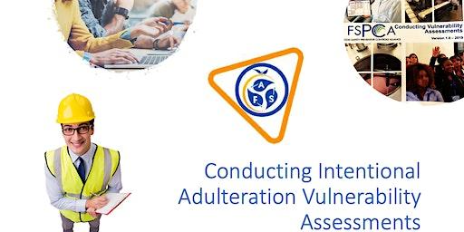 Tulrock, CA  FSPCA Course Conducting Vulnerability Assessments 21CFR121