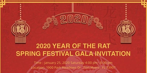 2020  Chinese New Year Celebration Gala - Year of the Rat