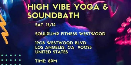 High Vibe Yoga & SoundBath  tickets