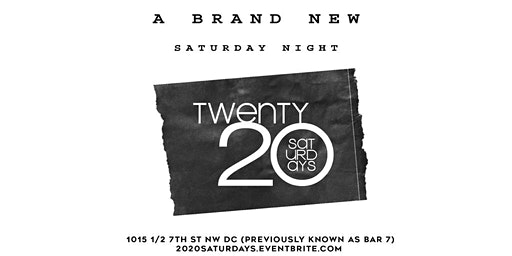 2020 Saturdays | AfroBeats; HipHop;  {Every Saturday} OPENBAR 10P - 11P
