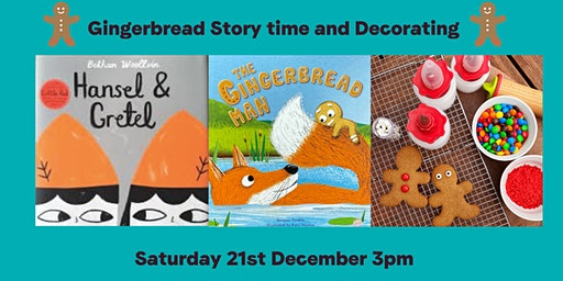 Gingerbread Story Time and Gingerbread People Decorating