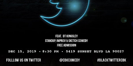 Dec Cornbread Kitchen Presents... The Black Twitter Show @ Upright Citizens Brigade  tickets