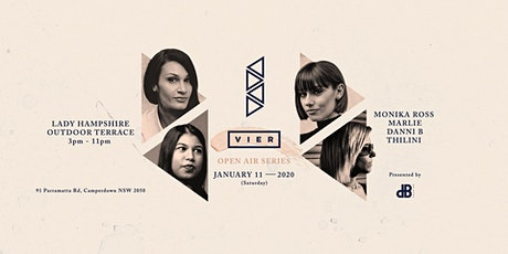 VIER: Aus launch party (Open Air) tickets
