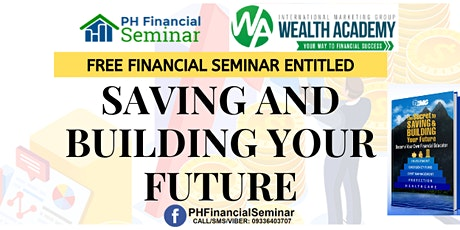 Saving and Building Your Future Davao City tickets