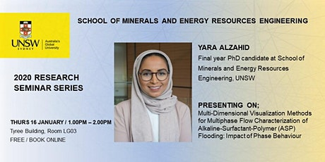 MERE Research Seminar Series, presents PhD candidate Yara Alzahid tickets