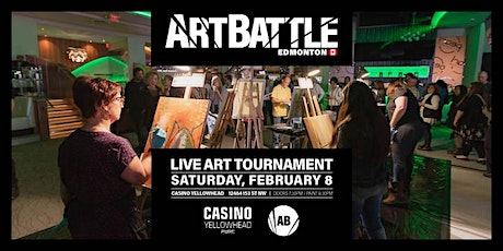 Art Battle Edmonton - February 8, 2020 tickets