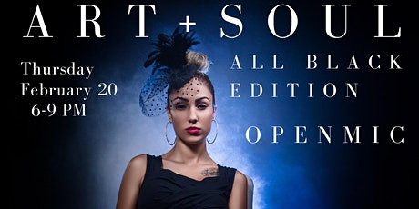 Art+Soul the All Black Edition tickets