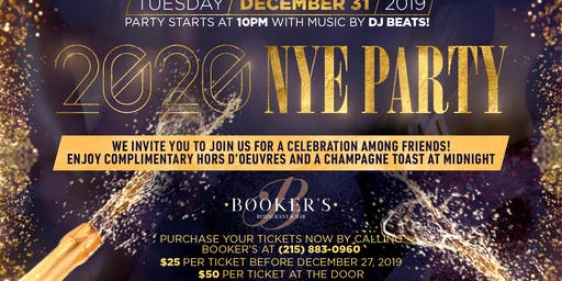 2020 New Years Eve Party