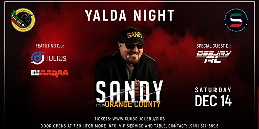 Yalda Night 2019 with Sandy