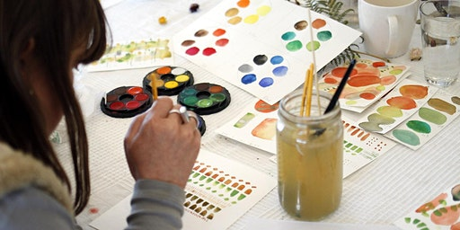 Abstract Watercolour Workshop