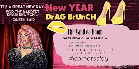 """New YEAR Drag Queen, Bottomless Mimosas & Brunch"" tickets"
