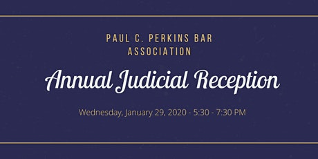 PCPBA Annual Judicial Reception tickets