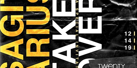 2020Saturdays Sagittarius TakeOver   AfroBeats; HipHop; Soca {Sat Dec 14}  tickets